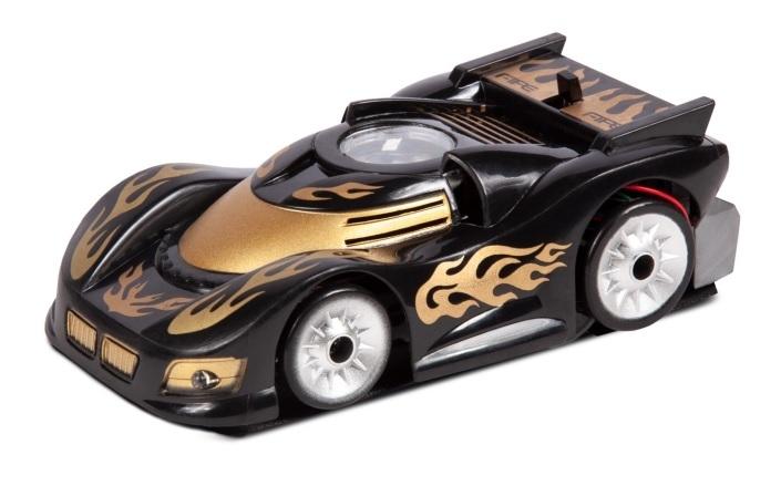Машинка на радиоуправлении Mioshi Автомобиль Рэйсер, 12,5 см, черная/золотая