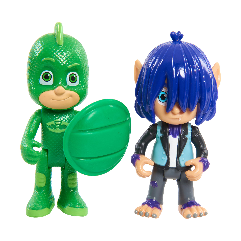 Игровой набор PJ Masks Гекко и Кевин» 2 фигурки 8 см. игрушки для ванны pj masks игровой набор кэтбой и ромео
