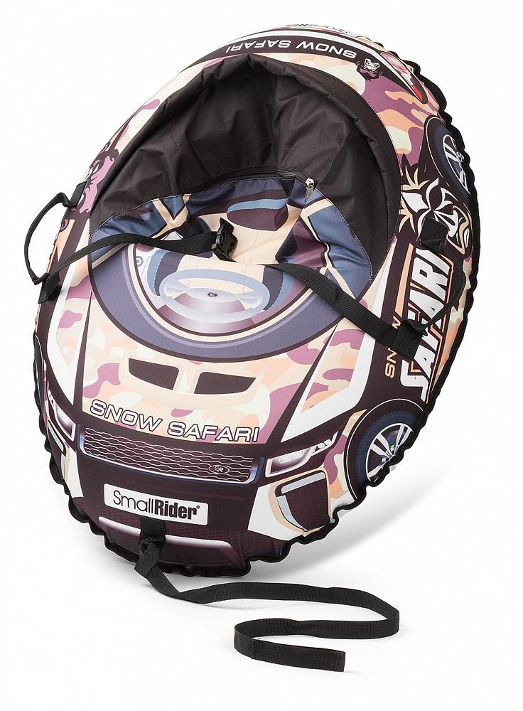 Купить Тюбинг-санки, Snow Cars 3 камуфляж, 1шт., Small Rider 1425141, Россия