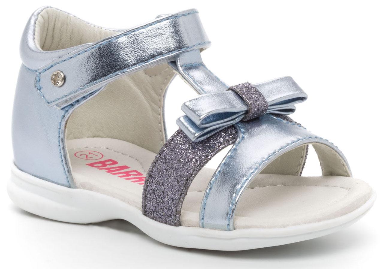 Туфли Barkito Туфли летние для девочки Barkito, голубые цена и фото