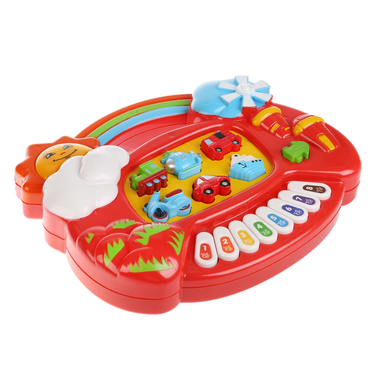 все цены на Развивающие игрушки Умка Обучающее пианино Умка «Стихи, песни, потешки» онлайн