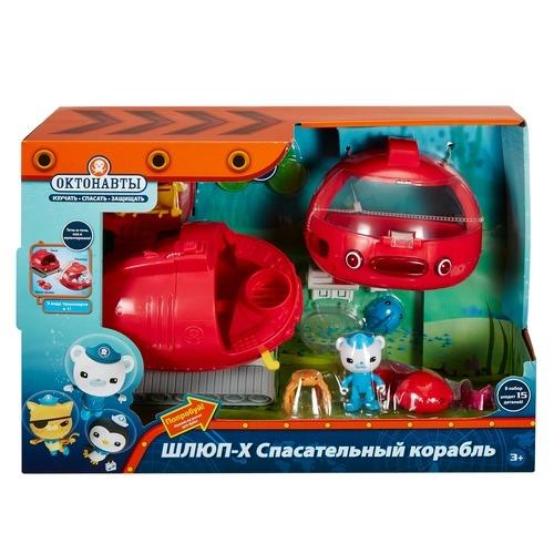 Игровой набор Mattel Подводная лодка Шлюп-X машинки mattel октонавты подводная лодка шлюп x