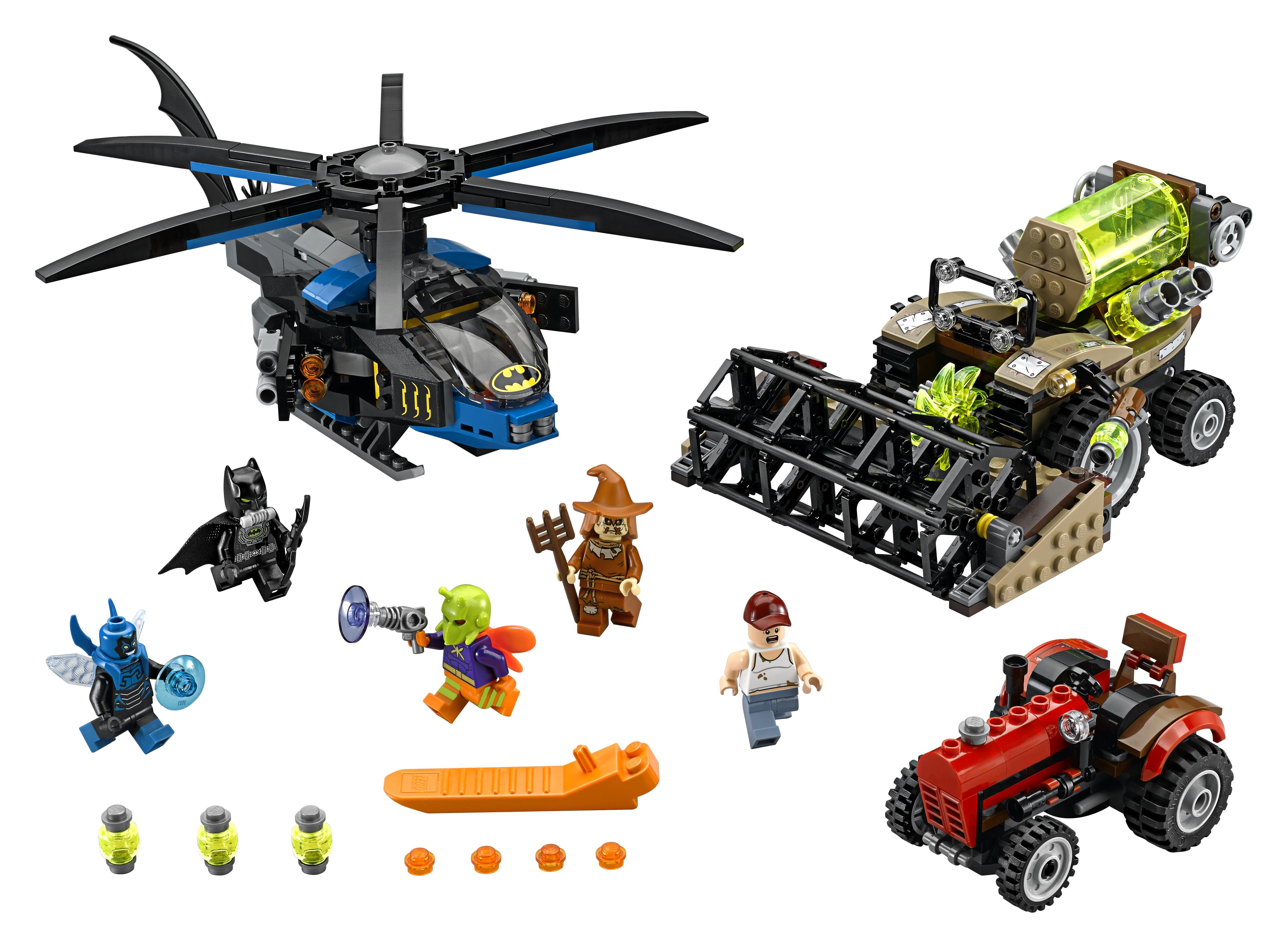 LEGO LEGO 76054 Бэтмен Жатва страха конструктор lego super heroes бэтмен убийца крок 76055