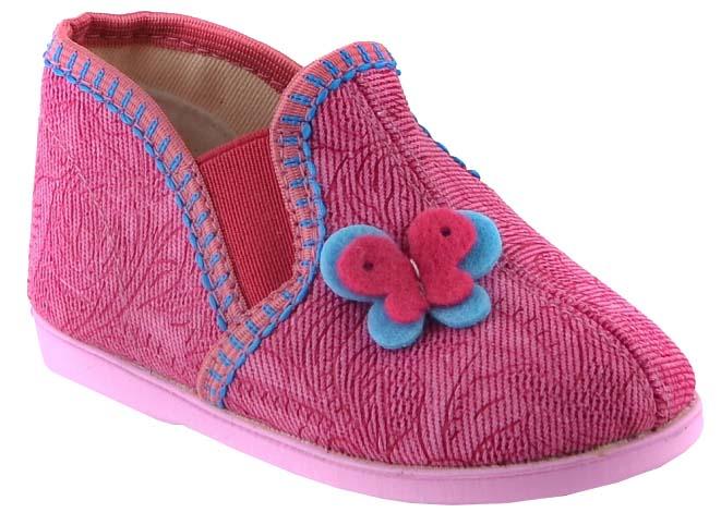 Туфли комнатные малодетские Домашки для девочки набор для вышивания bondibon картина на пяльцах вышивка лентами вв1462