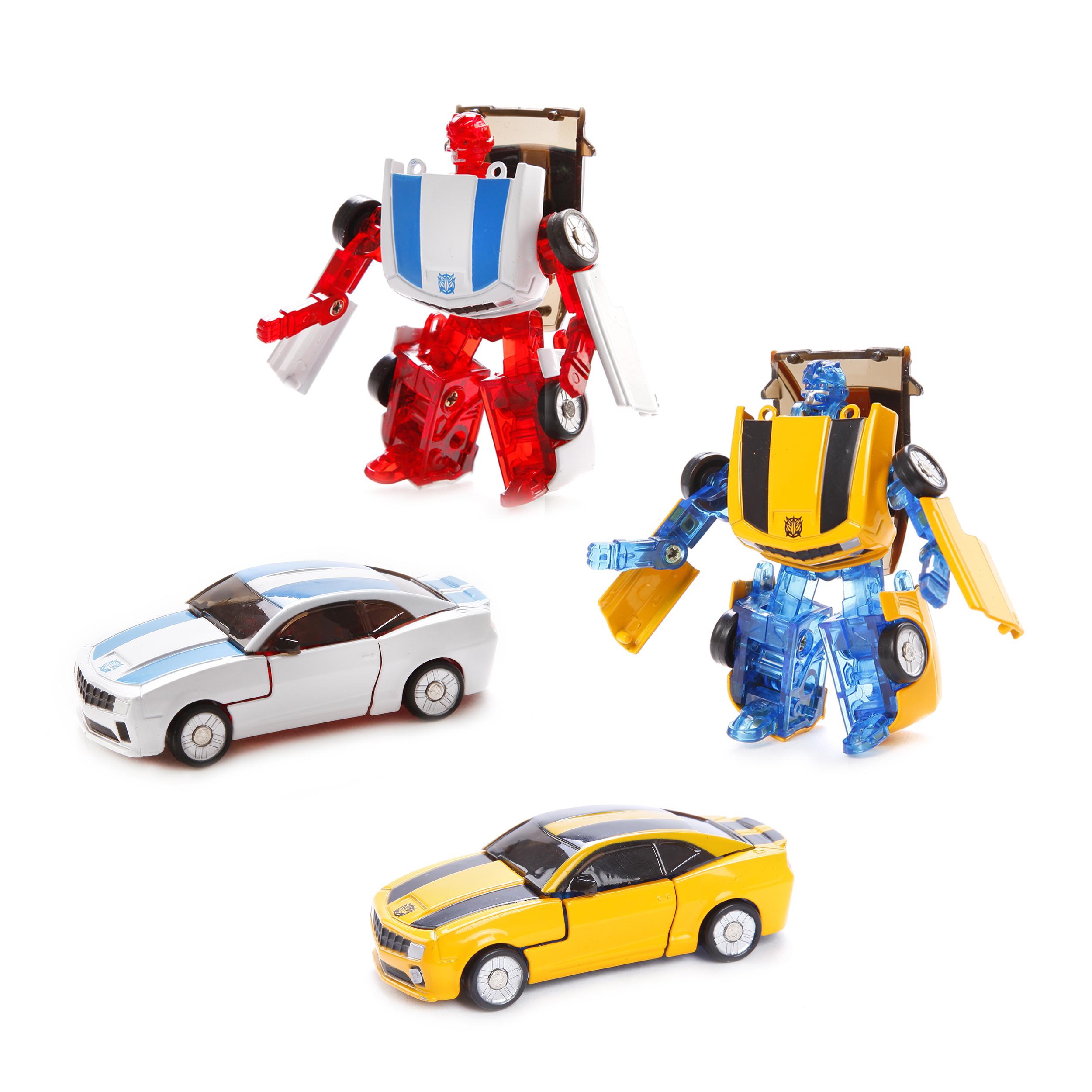 Машинки и мотоциклы Shantou Gepai Робот-трансформер Пламенный мотор «Машина-Космобот» в асс. цена