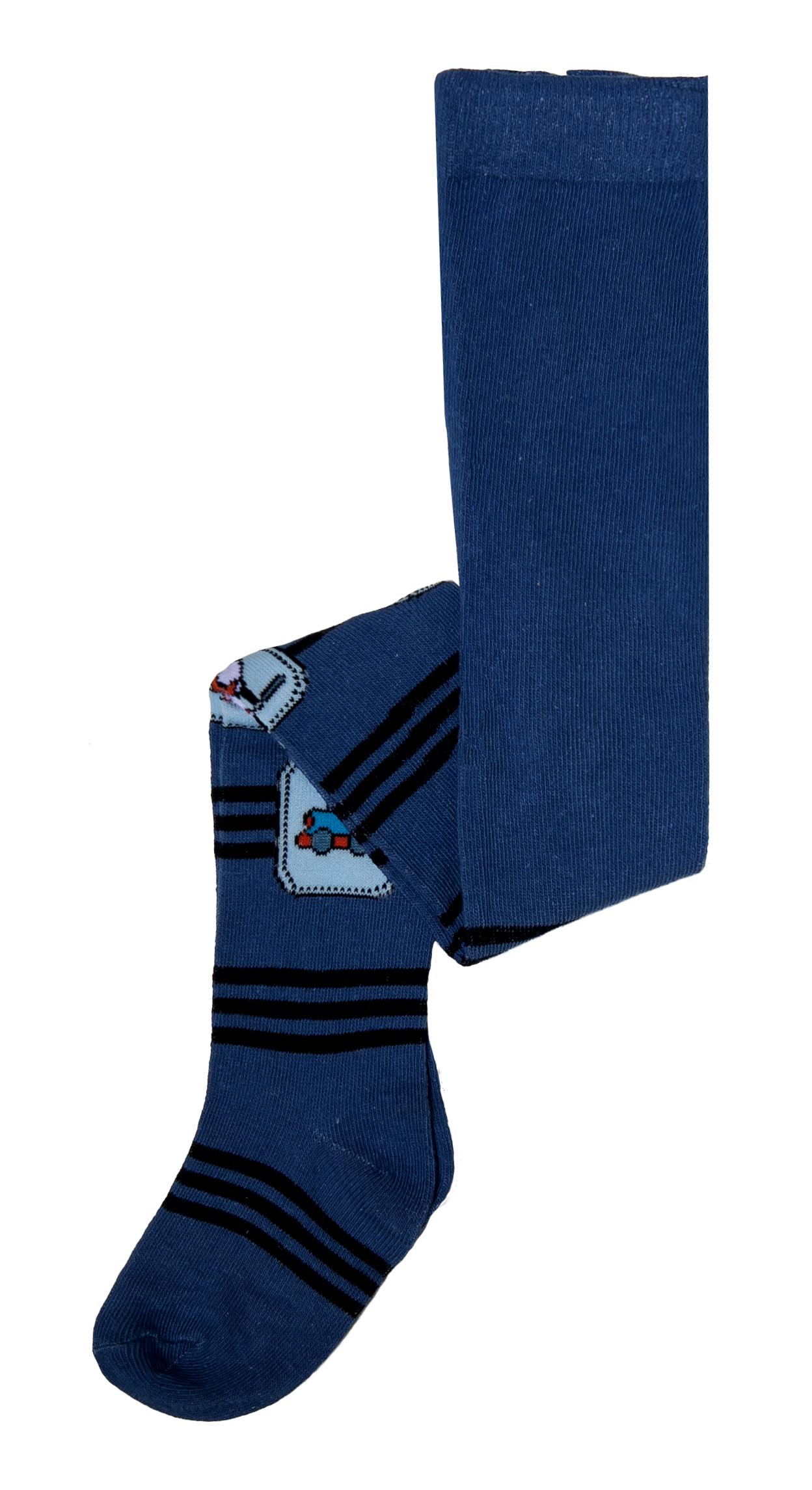 Купить Колготки для мальчика Barkito, синие, Китай, blue, Мужской