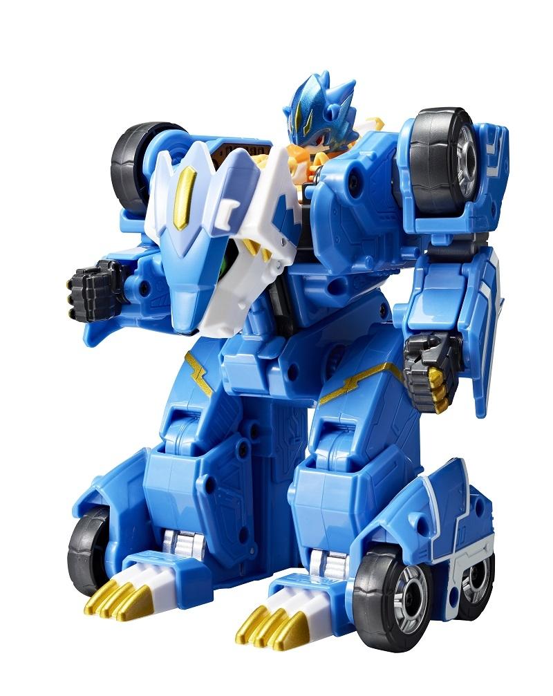 Машинки и мотоциклы Monkart Мегароид Лео игрушка трансформер monkart мегароид лео синий