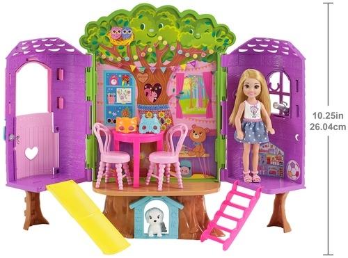 Игровой набор Barbie Домик на дереве Челси