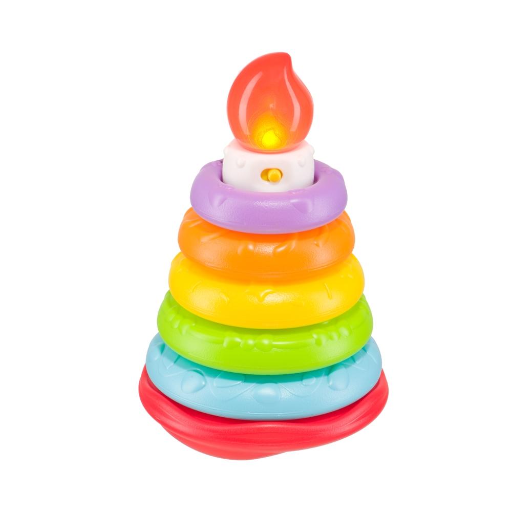 Купить Пирамидки для малышей, Happy Cake, 1шт., Happy baby 330080, Китай