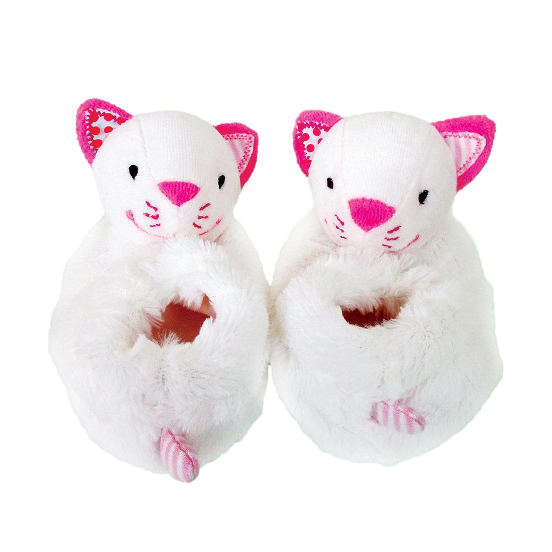 Погремушки и прорезыватели Наша игрушка Кошечка Кити для младенцев мягкая игрушка запястье погремушки ножки