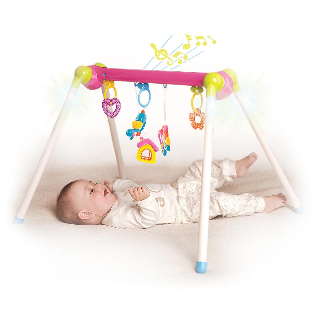 Развивающие игрушки для малышей Наша игрушка Первые занятия гимнастикой