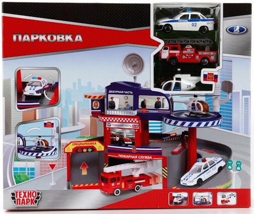Гаражи и игровые наборы Технопарк Игровой набор Технопарк «Парковка спецслужб» со спуском adriatica часы adriatica 3136 1111q коллекция ladies