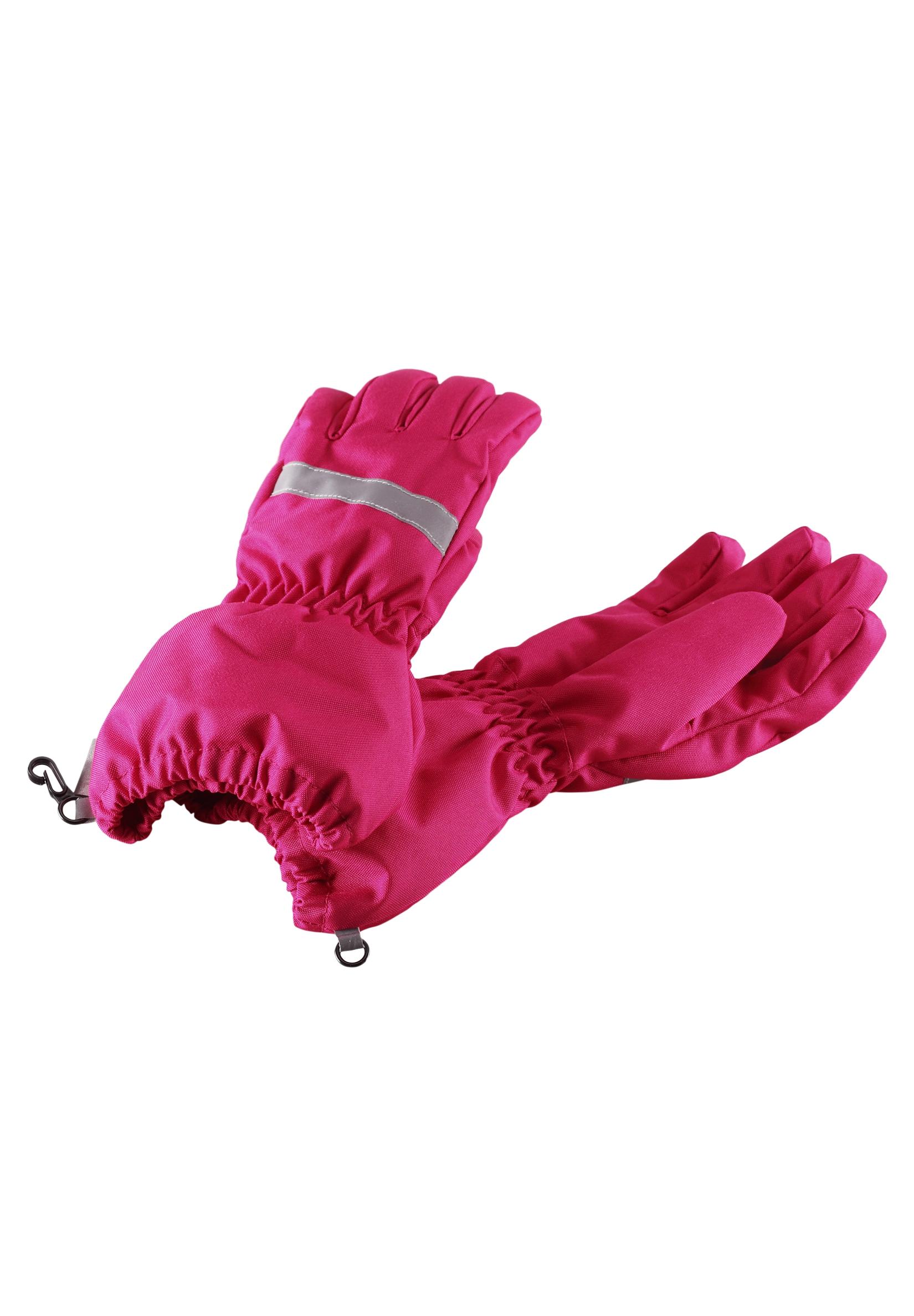 Варежки и перчатки Lassie Перчатки для девочки Lassie, малиновые перчатки lassie lassie la078dkupy33