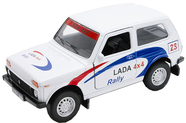 Машинки и мотоциклы Welly LADA 4x4 Rally машинки и мотоциклы soma 78928r