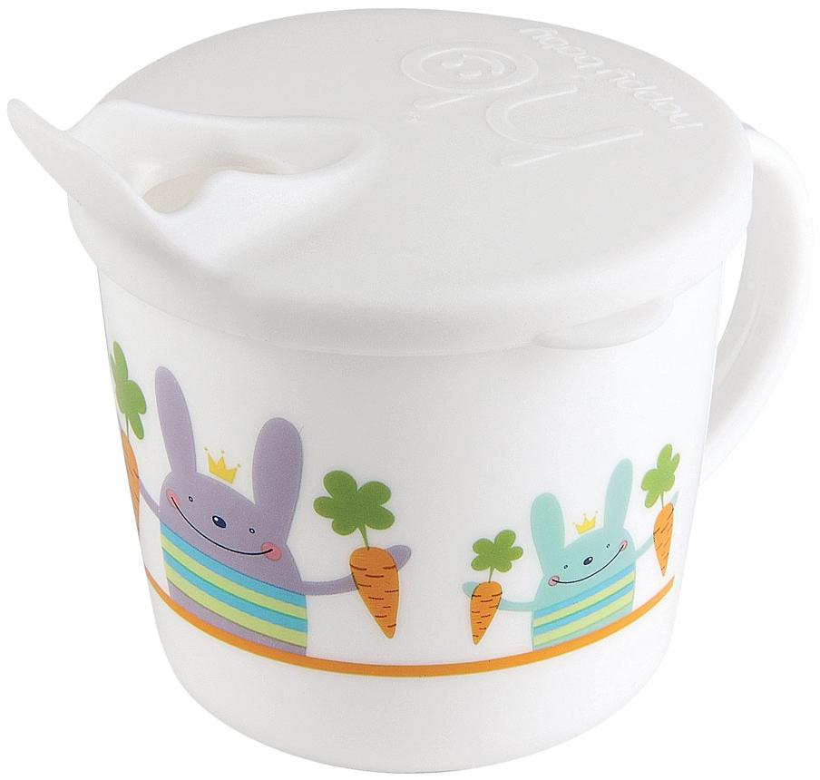 Чашки и поильники Happy baby Поильник Happy Baby «Traning Cup» с носиком и крышкой с 8 мес. в асс. цена
