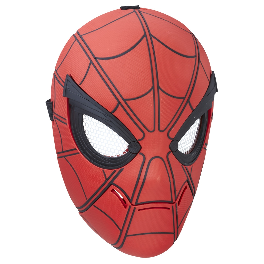 Spider Man Spider-man Маска Spider-man интерактивная lis 2017 new iron man glove action figure spider man launchers toy kids suitable spider man cosplay costume music and led light