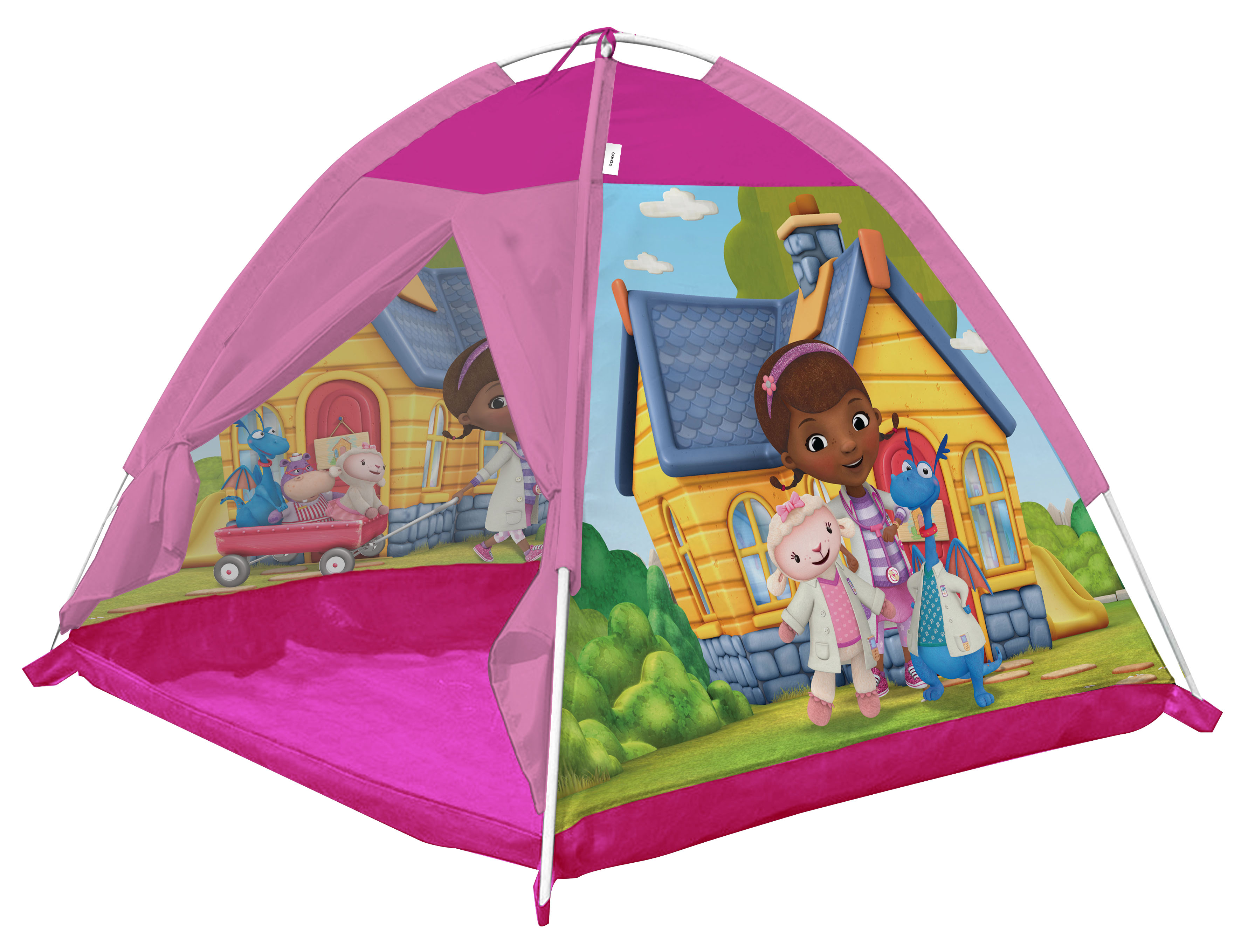 Игровые палатки ЯиГрушка Палатка игровая ЯиГрушка «Доктор Плюшева» 112х112х84 см игровые палатки миньоны палатка игровая minions миньоны