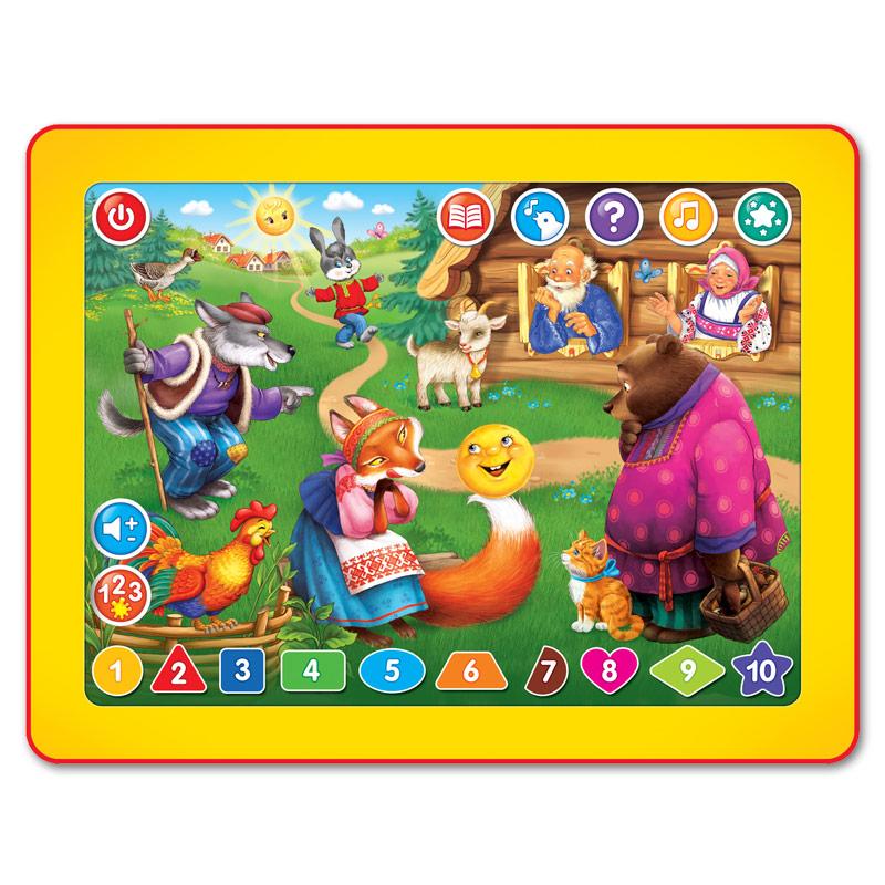 Планшетик Азбукварик Колобок планшет азбукварик планшетик музыкальная ферма 30014080741
