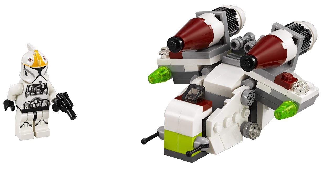 Star Wars LEGO Star Wars 75076 Республиканский истребитель lego star wars 75171 битва на скарифе