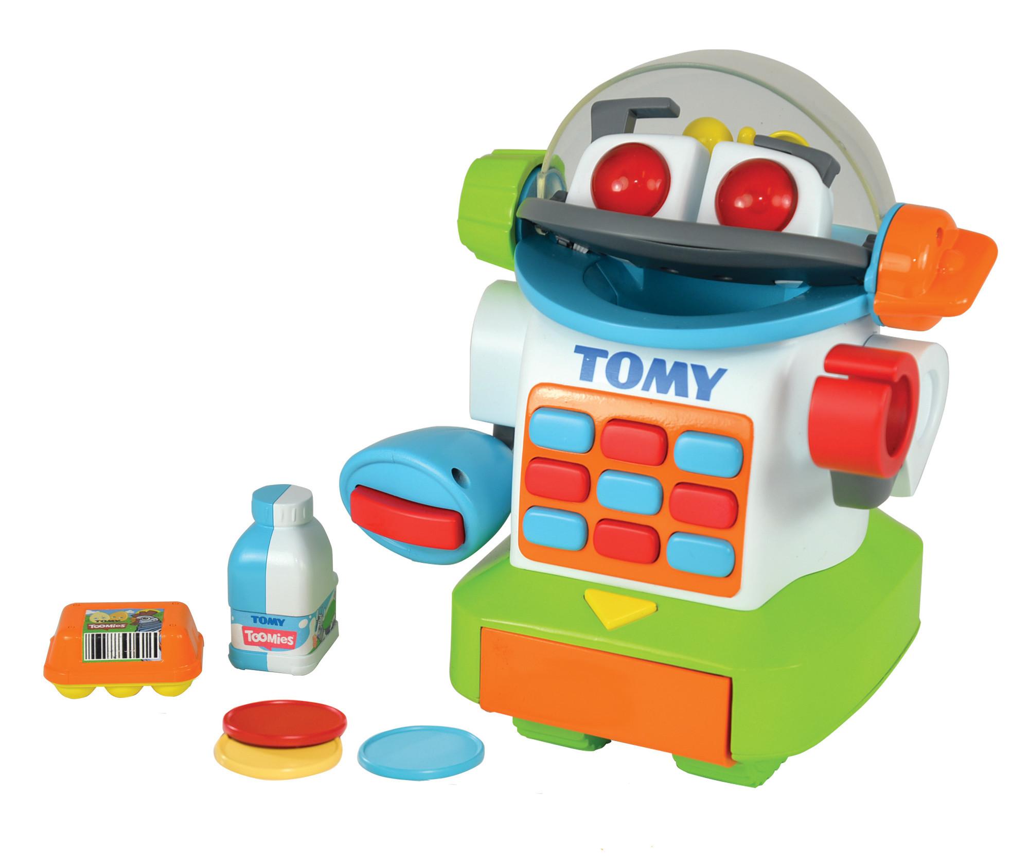 Развивающие игрушки Tomy Игровой набор Tomy «Мистер Робомагазин» машины tomy трактор john deere 6830
