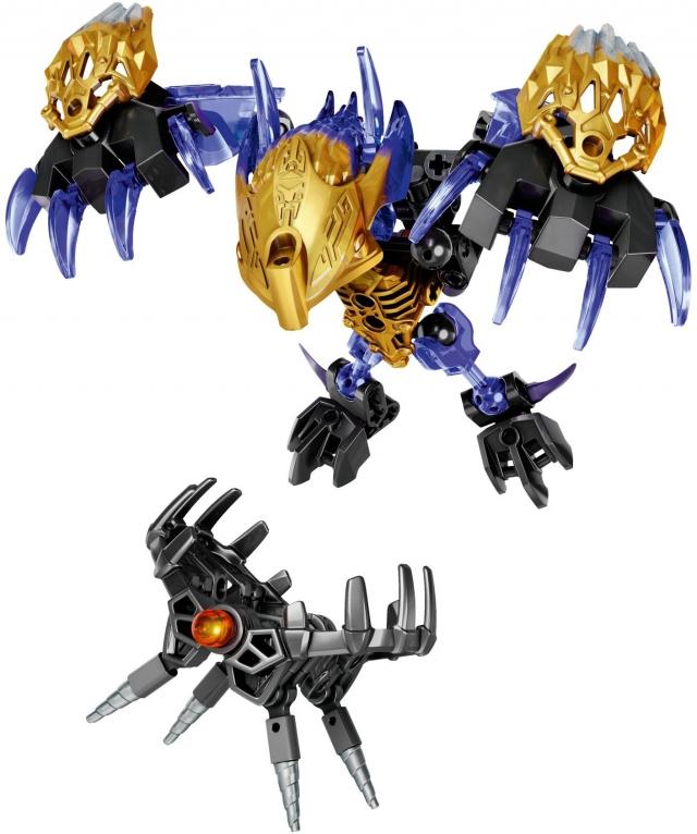 Конструктор LEGO Bionicle 71304 Терак - порождение Земли конструктор ksz уксар тотемное животное джунглей 89 дет 609 1