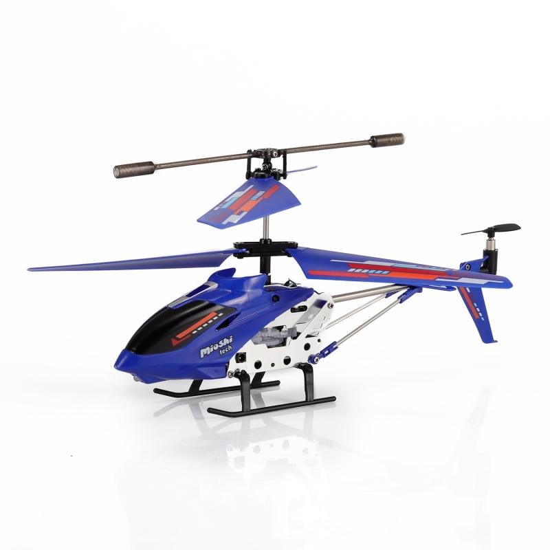Вертолет на инфракрасном управлении Mioshi «X22 синий» самолеты и вертолеты abtoys вертолет на инфракрасном управлении с гироскопом