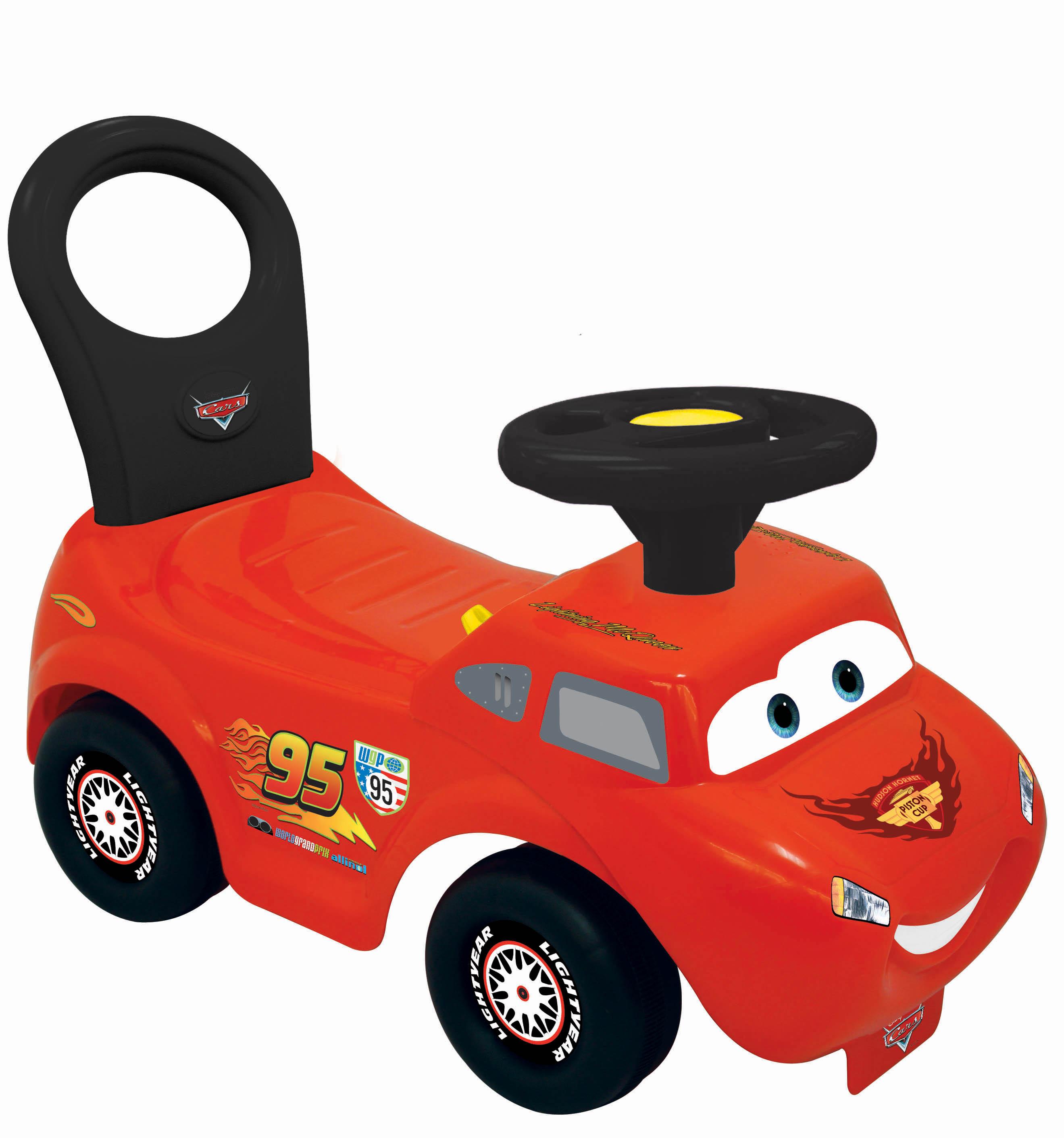 Машинки-каталки и ходунки KIDDIELAND Молния Маккуин автомобили автомобили звук и свет спортивный автомобиль молния маккуин frp23