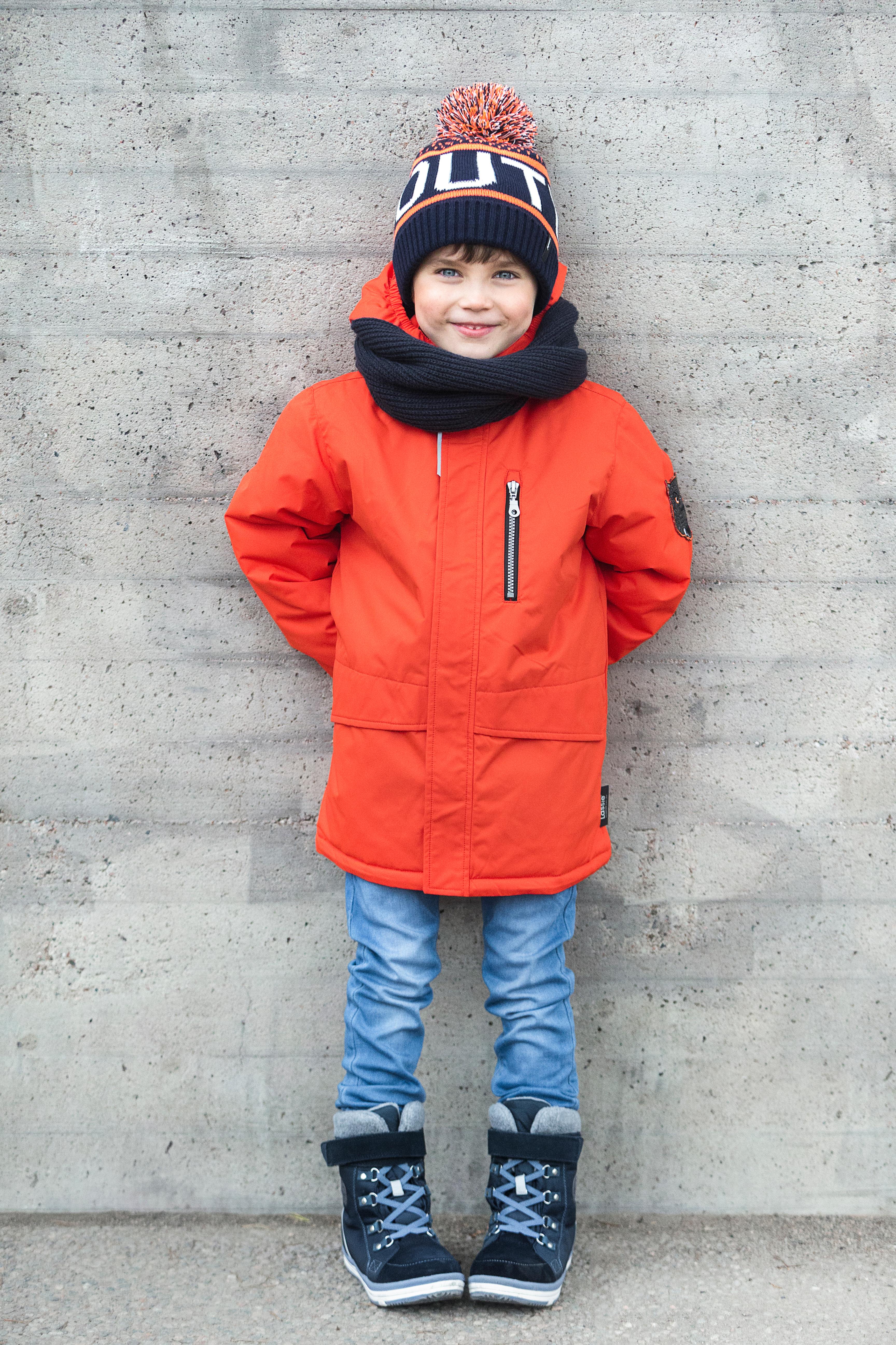 Куртка для мальчика Lassie красная