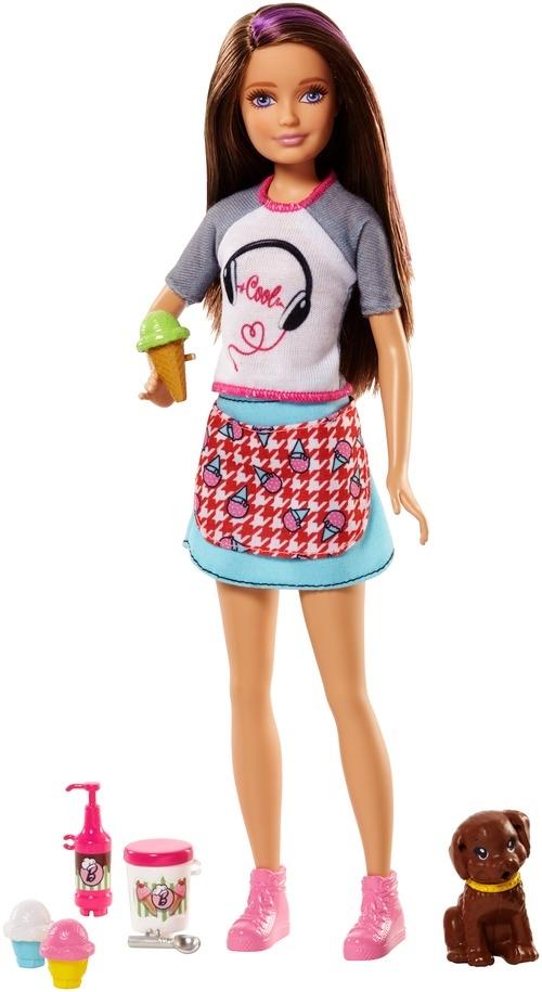Barbie Barbie Кукла Barbie «Сестры и щенки» в асс. кукла barbie 2014 principessa