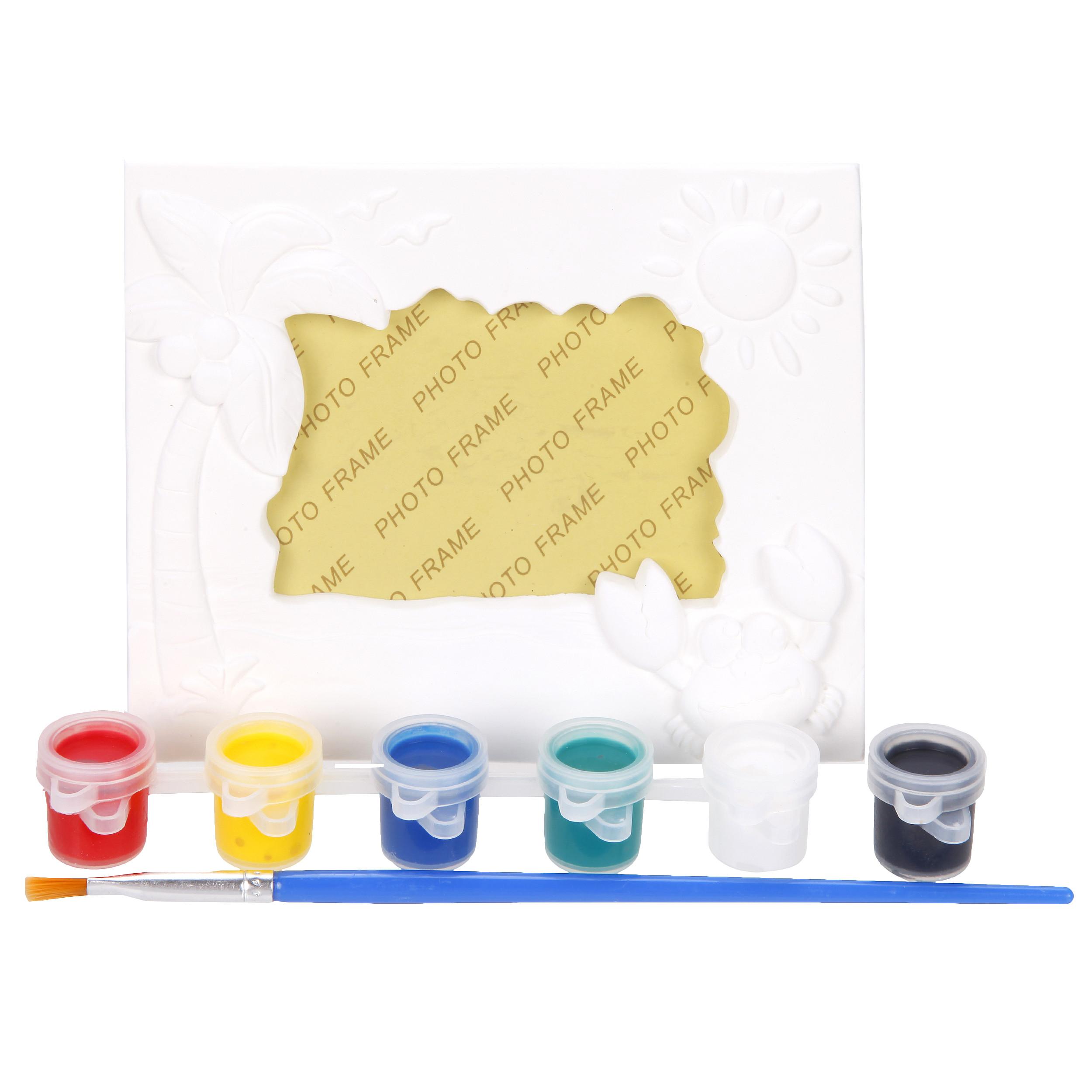 Наборы для творчества Color Puppy Роспись фоторамки набор для детского творчества наша игрушка рукодельница бабочка