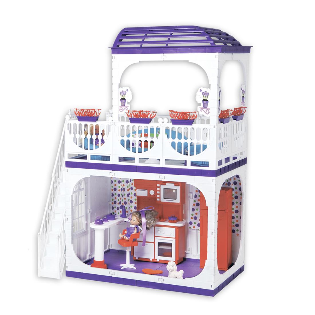 Домики для кукол Огонек Дом. Конфетти цены онлайн