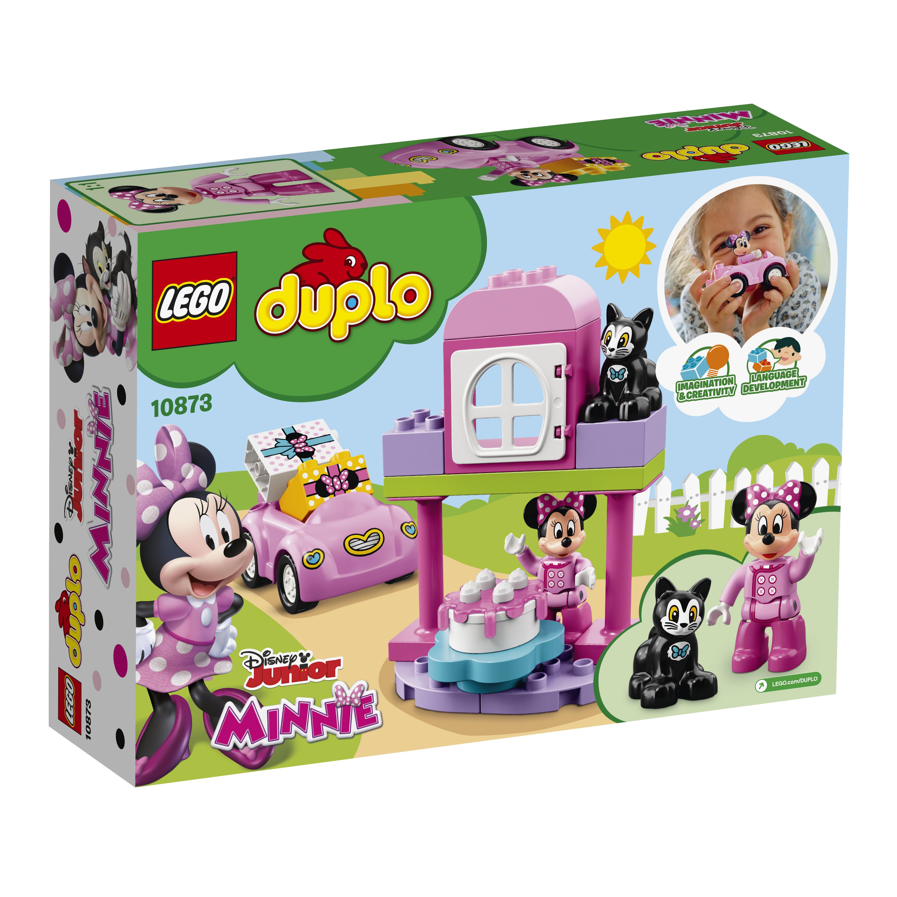 Конструктор LEGO 10873 День рождения Минни lego duplo lego 10873 день рождения минни