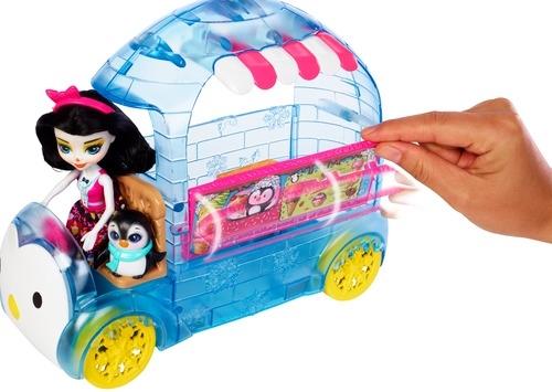 Enchantimals Enchantimals Фургончик мороженого Прины Пингвины сигнал поезда
