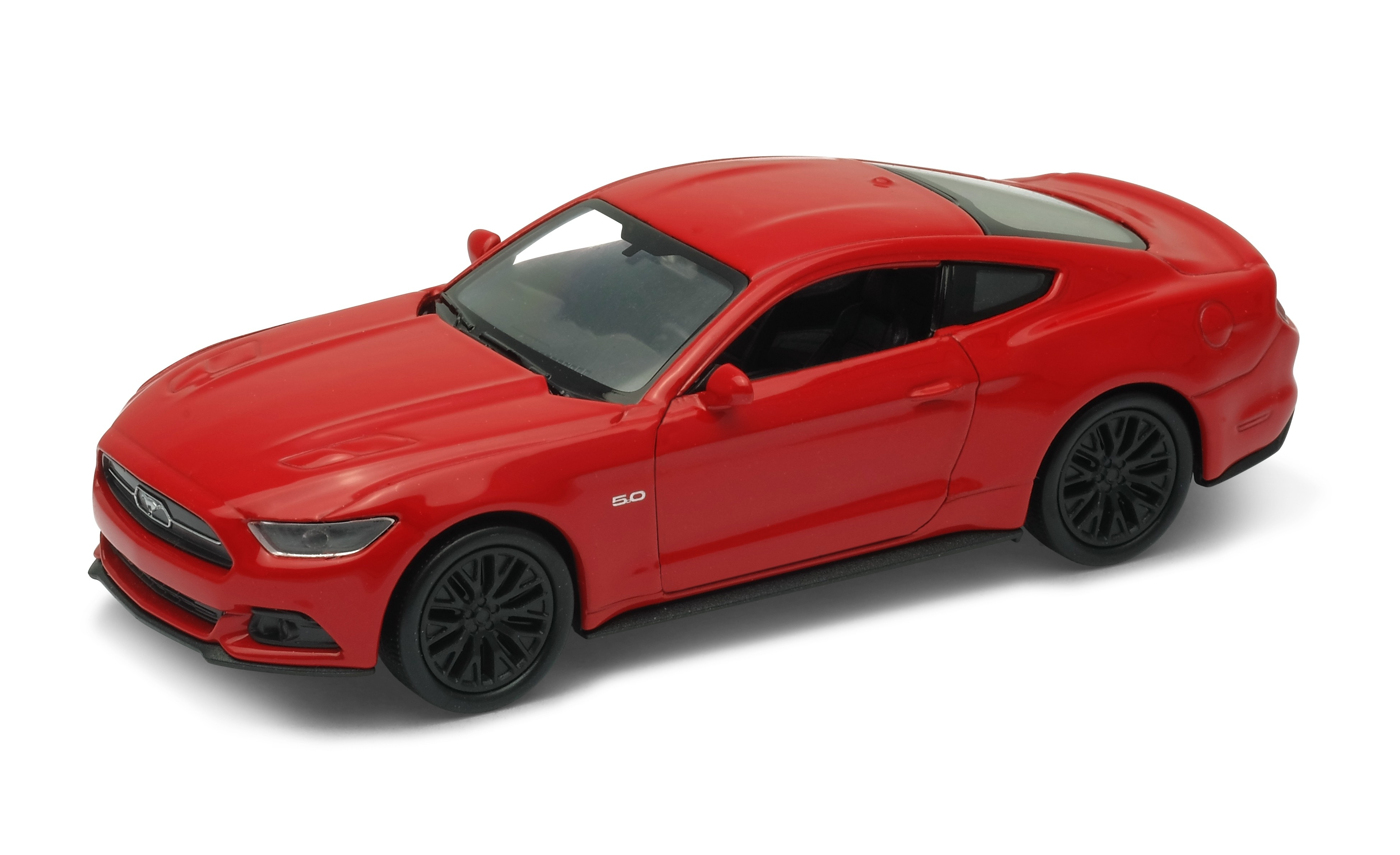 Машинки и мотоциклы Welly Ford Mustang GT 2015 43707 цена 2017
