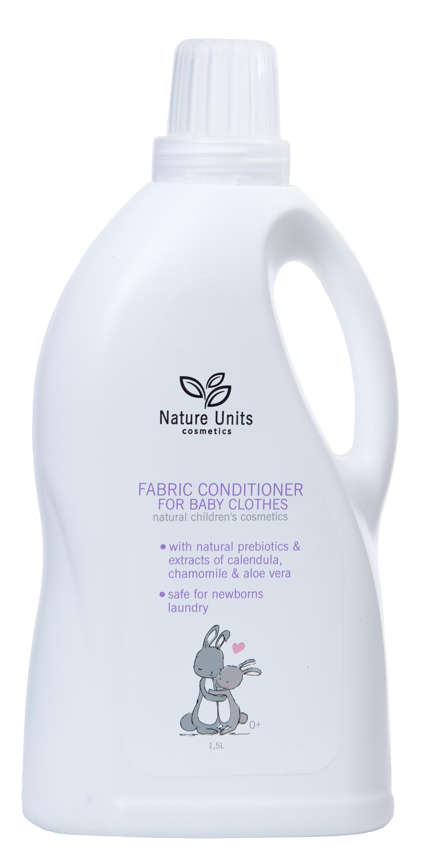 Кондиционер для белья Nature Units С рождения, 1,5 л