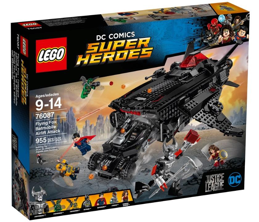 LEGO LEGO Super Heroes 76087 Нападение с воздуха heroes