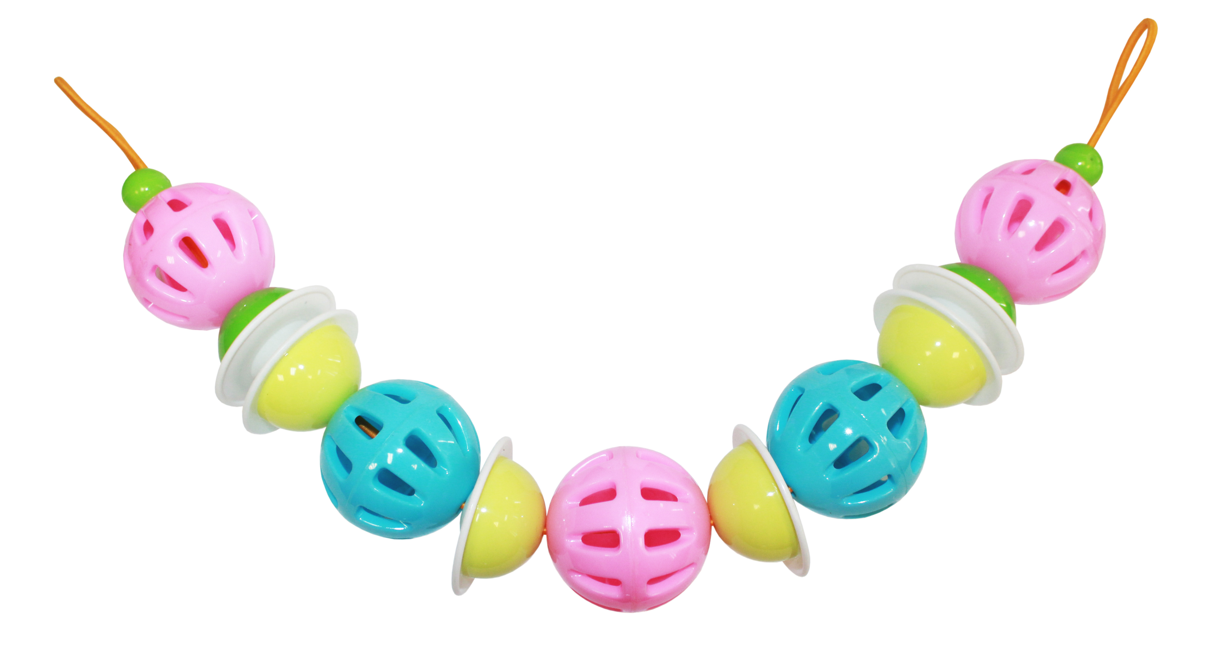 Игры и игрушки в дорогу Пластмастер Подвеска на коляску Пластмастер «Нежность» польша коляску