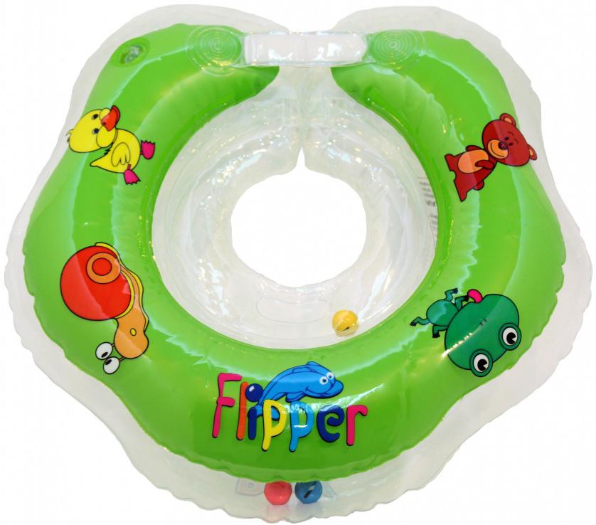 Коврики и круги Flipper Круг для купания на шею Flipper 0-24 мес. в асс. круг для купания младенцев flipper отзывы