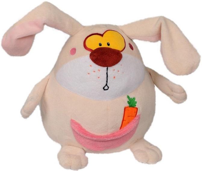 Мягкие игрушки СмолТойс Заяц-шарик классические смолтойс заяц шарик