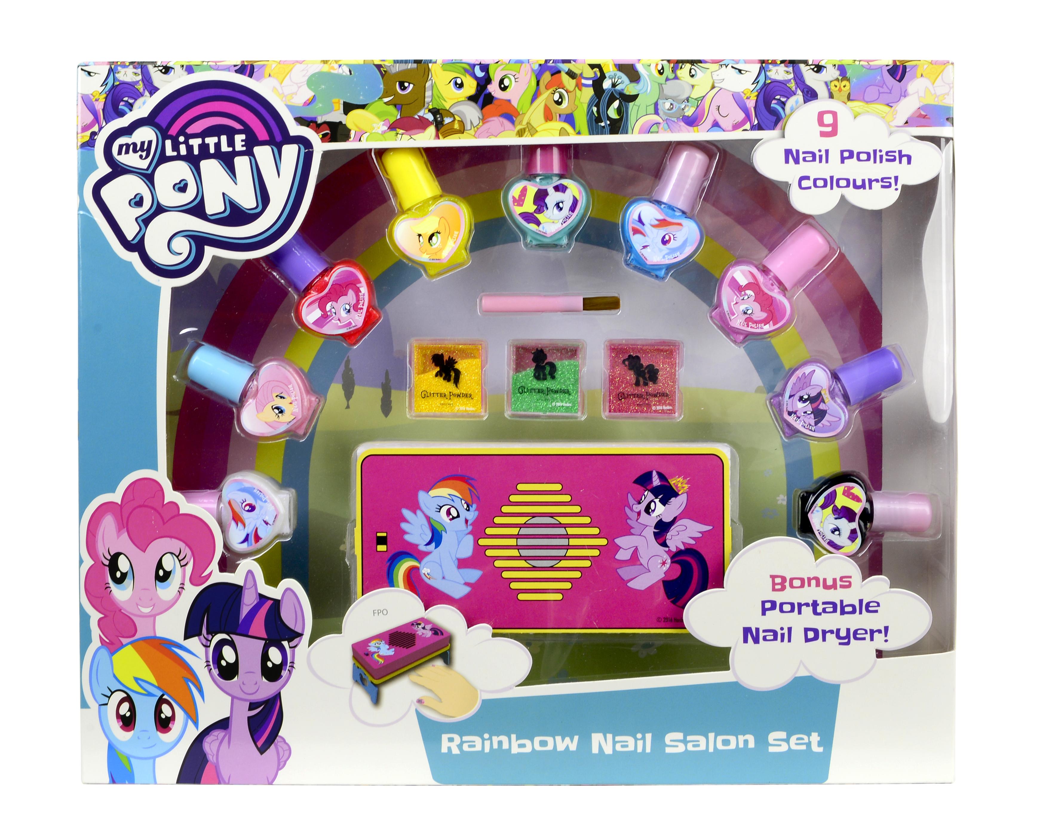 цена на Набор лаков My Little Pony с аксессуарами