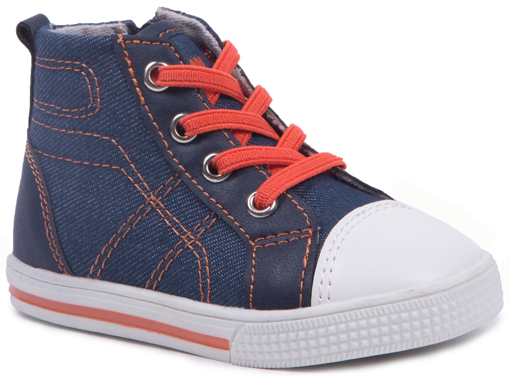 Купить Кроссовки и кеды, Ботинки для мальчика Barkito, синие, Китай, blue, Мужской