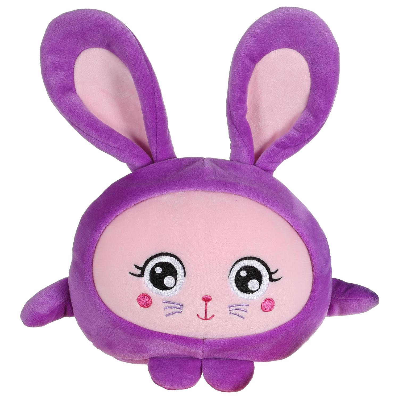 Мягкие игрушки 1toy Плюш. Фиолетовый зайка» 20 см 4moms электронное mamaroo 3 0 серый плюш