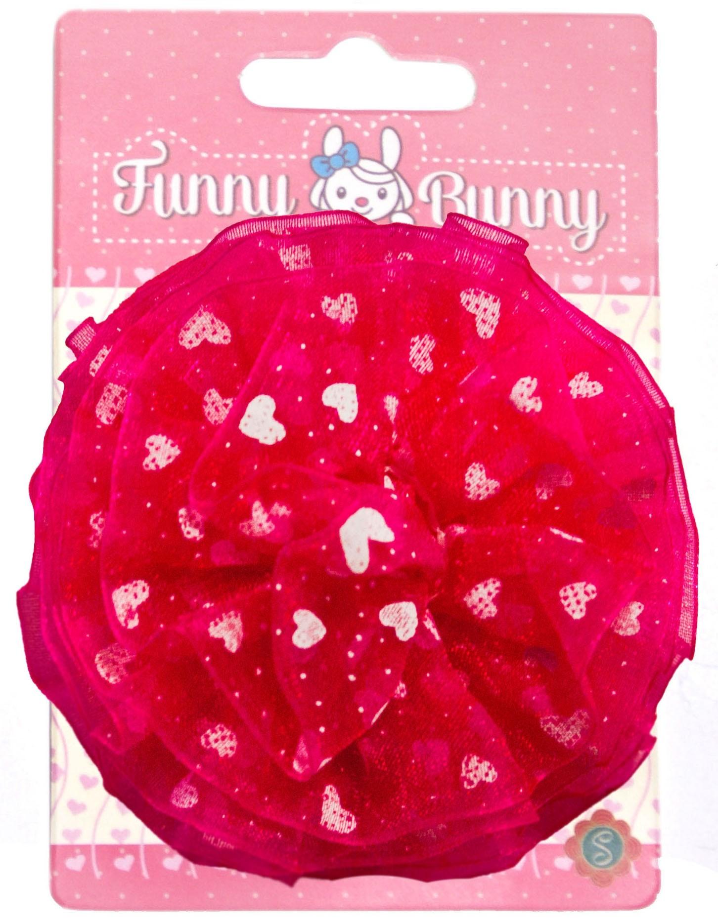 Украшения Funny Bunny Шар невидимка для волос funny bunny розовые цветы 2 шт