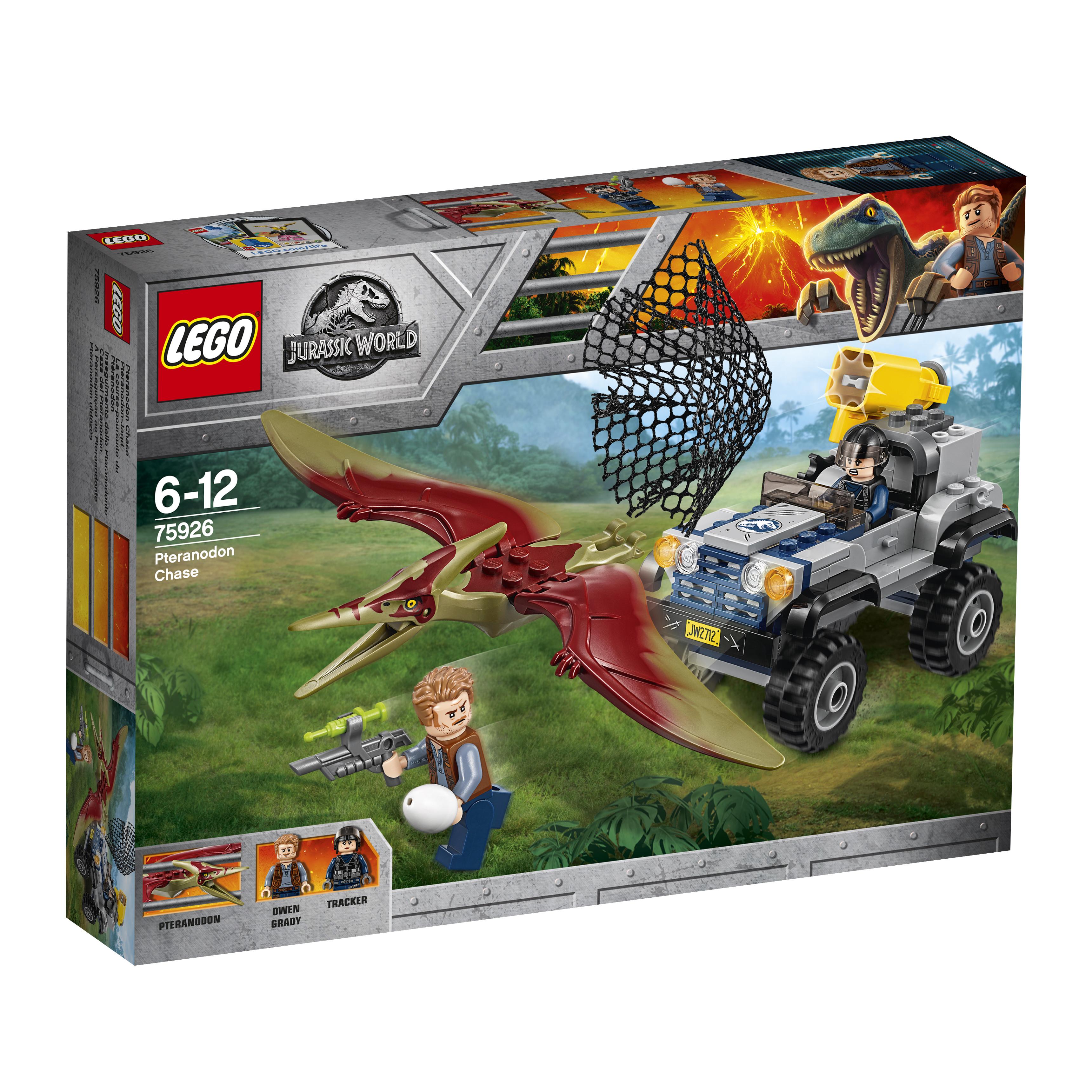 Конструктор LEGO Jurassic World 75926 Погоня за птеранодоном цена 2017