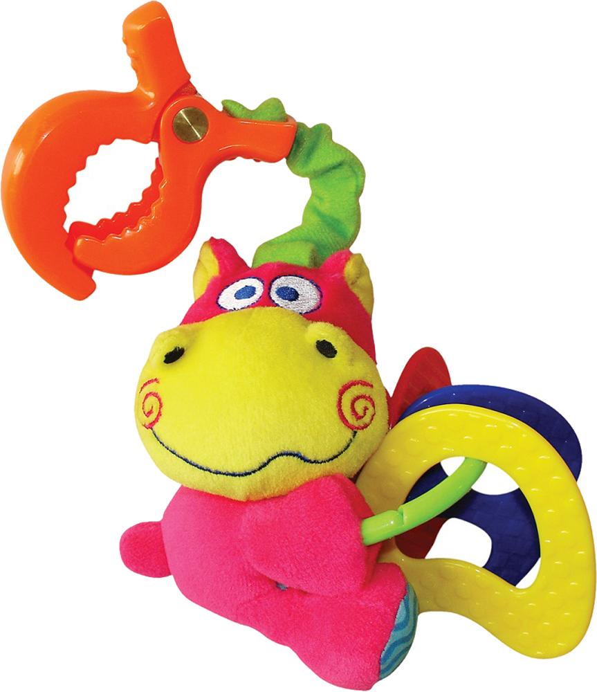 Игры и игрушки в дорогу Мир детства Бегемотик музыкальные игрушки мир детства ключики