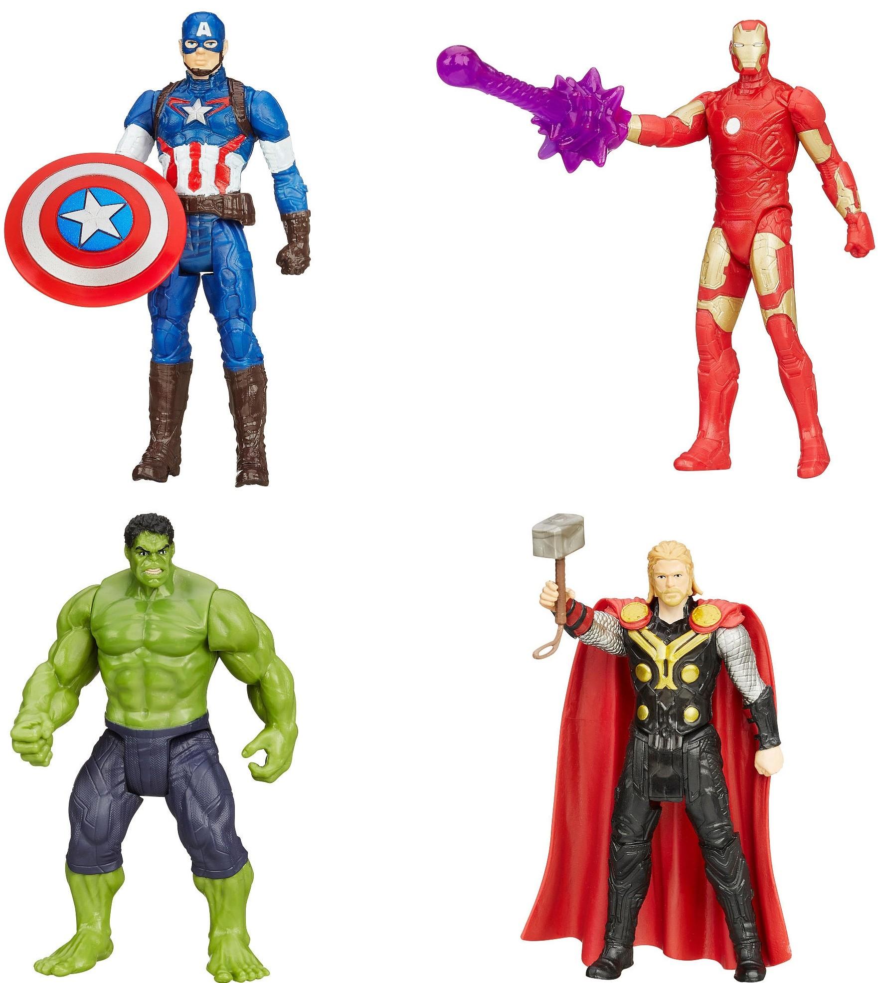 Avengers Avengers Фигурка Hasbro «Мстители: Эра Альтрона» 9,5 см в асс. капитан америка удивительный человек паук 2 железный человек перчатки мультфильм детей игрушки передатчик