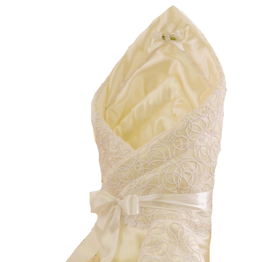 Комплекты на выписку Арго Одеяло на выписку АРГО «Ажур», шампань цена