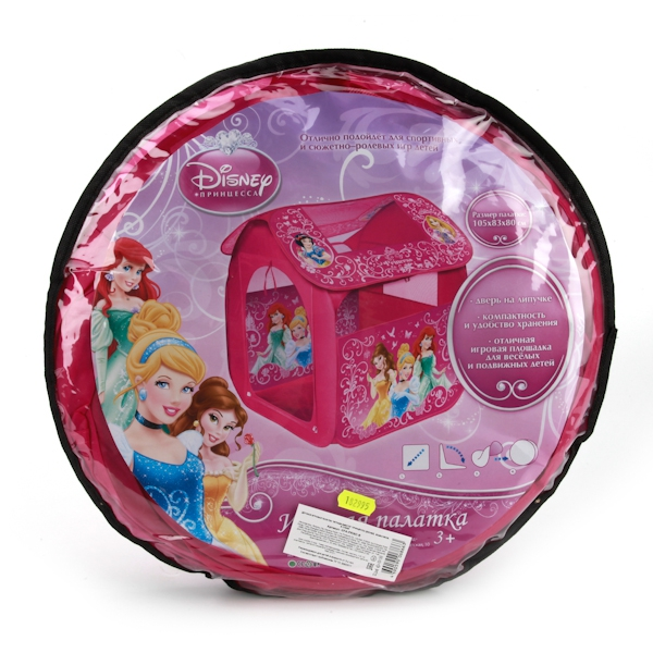 Игровые палатки Играем вместе Дисней Принцессы академия групп жесткий пенал золушка принцессы дисней