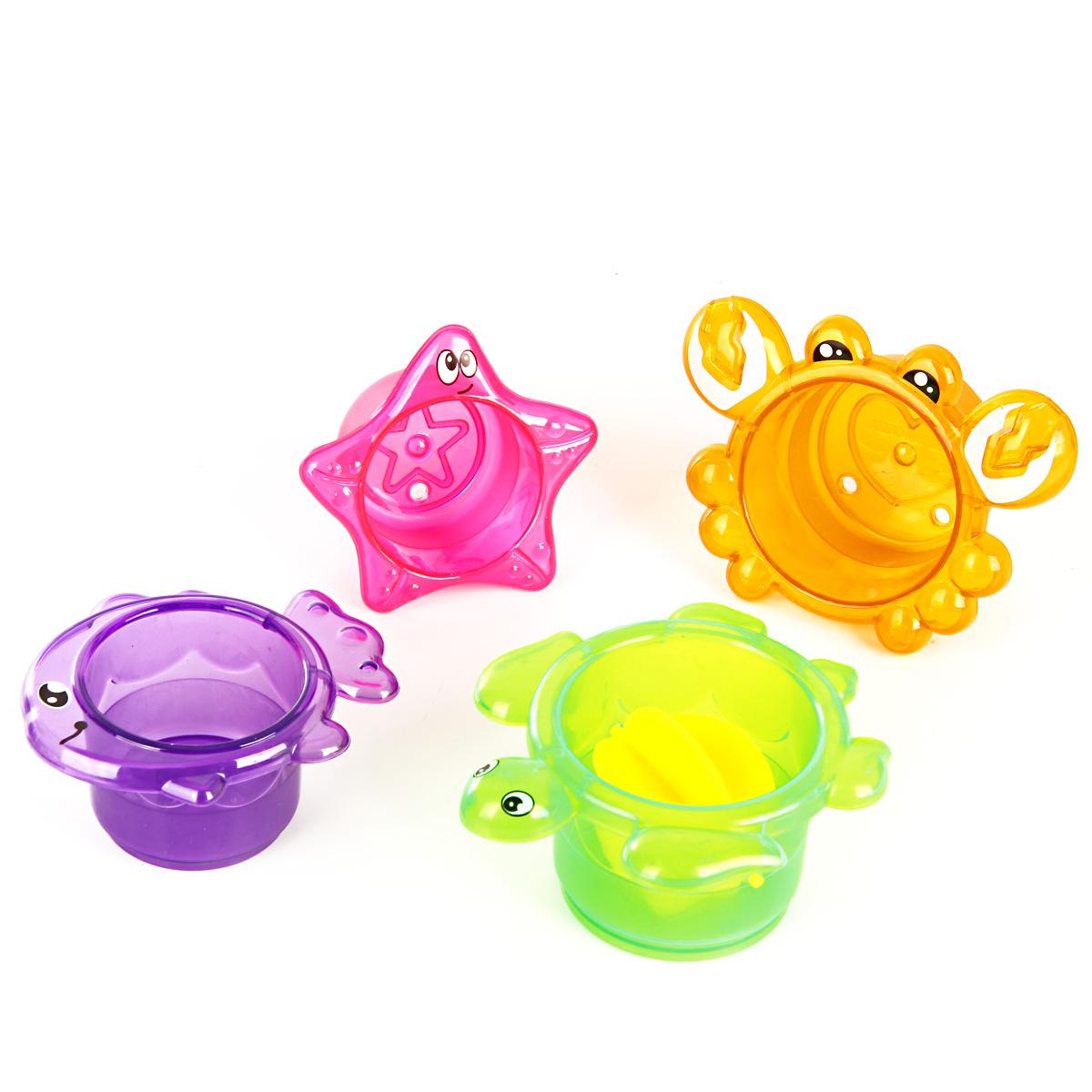 Игрушки для ванны Ути Пути Набор игрушек для ванны Ути Пути «Формочки. Черепашка» в асс. игрушки для ванны жирафики набор для купания черепашка и пингвин