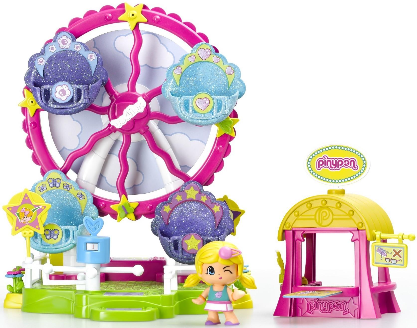 Pinypon Famosa Пинипон - Колесо обозрения игровой набор с фигуркой peppa pig колесо обозрения луна парк